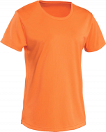 Orange Tshirt Neck Added