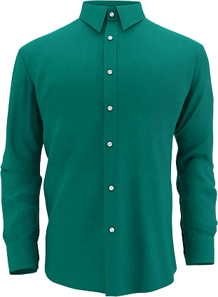 men's shirt with neck joined by image editing