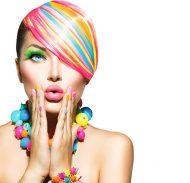 woman air brush image editing retouch