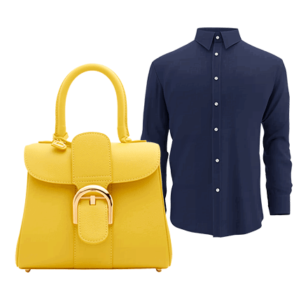 bag and shirt clip path by imageediting.com