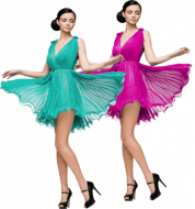 ballerina multiple clipping path sample