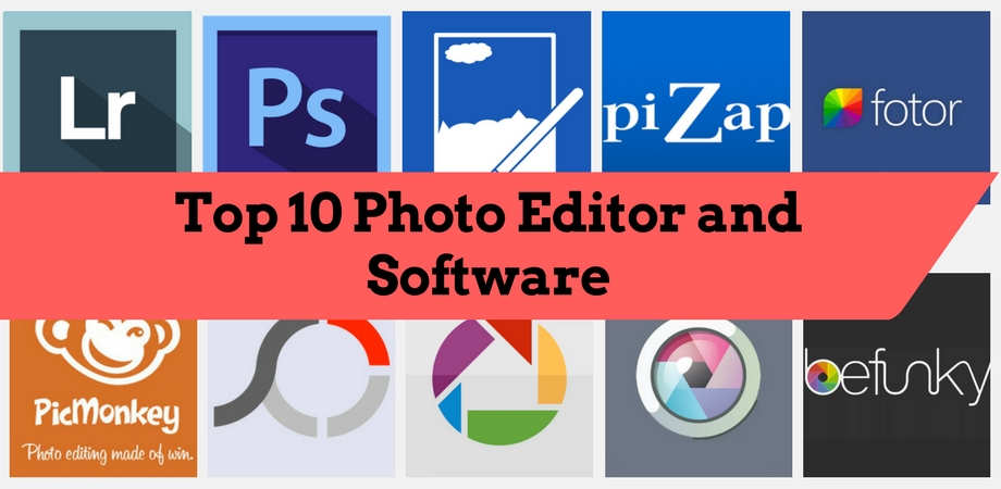 Top 10 Photo Editors