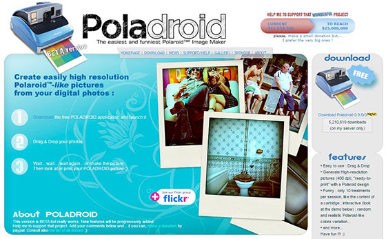 Poladroid Screenshot