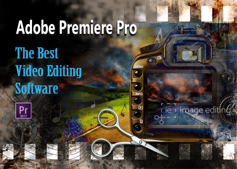 Adobe Premiere Pro - Best Video Editing Software Banner