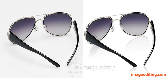 Double shade sunglass with and without mirror shadow