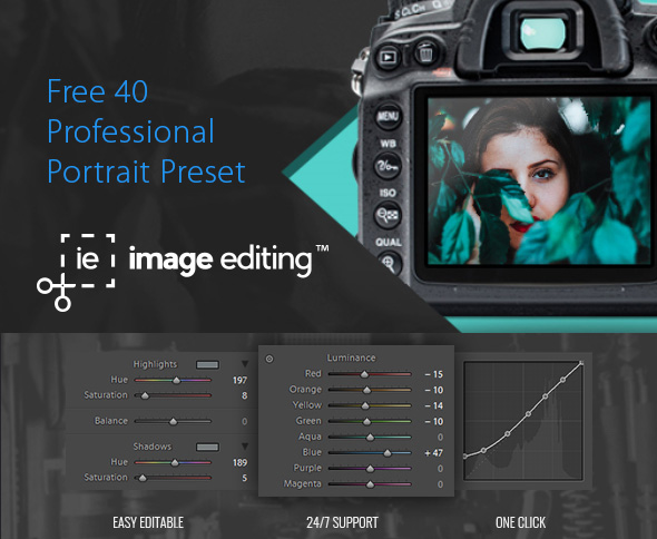 Featured Image of Free Portrait Preset by ImageEditing.com