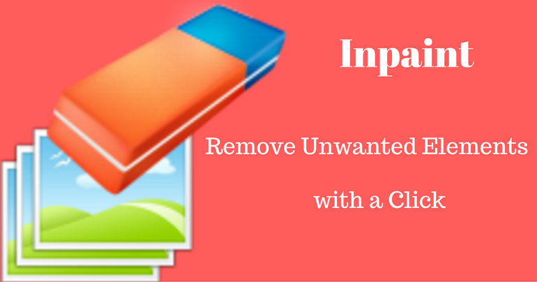Inpaint remove unwanted elements banner