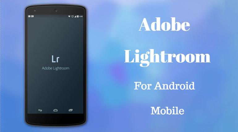 Lightroom for Mobile Banner