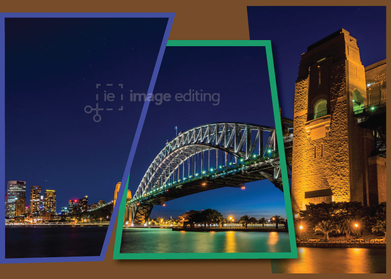 A Panaroma View of Sydney Harbour Bridge