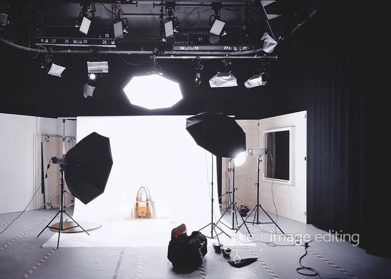 Photography of a Light Orange Handbag