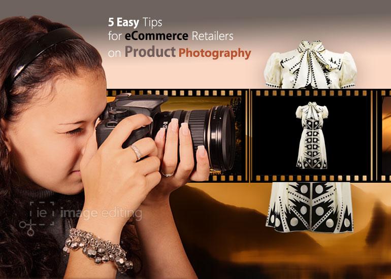Female Photographer Taking Photo of a White Dress