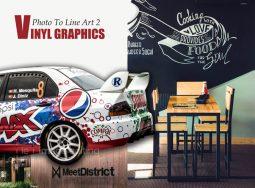 Examples of vinyl-graphics
