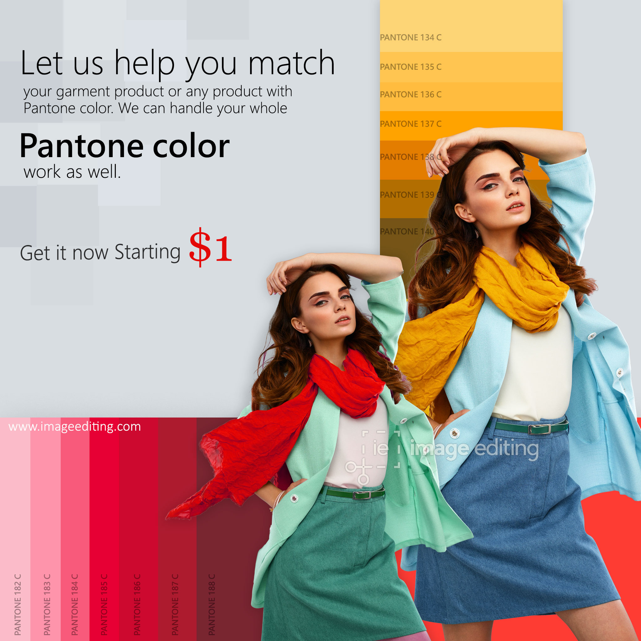 Color Match Pantone Sample