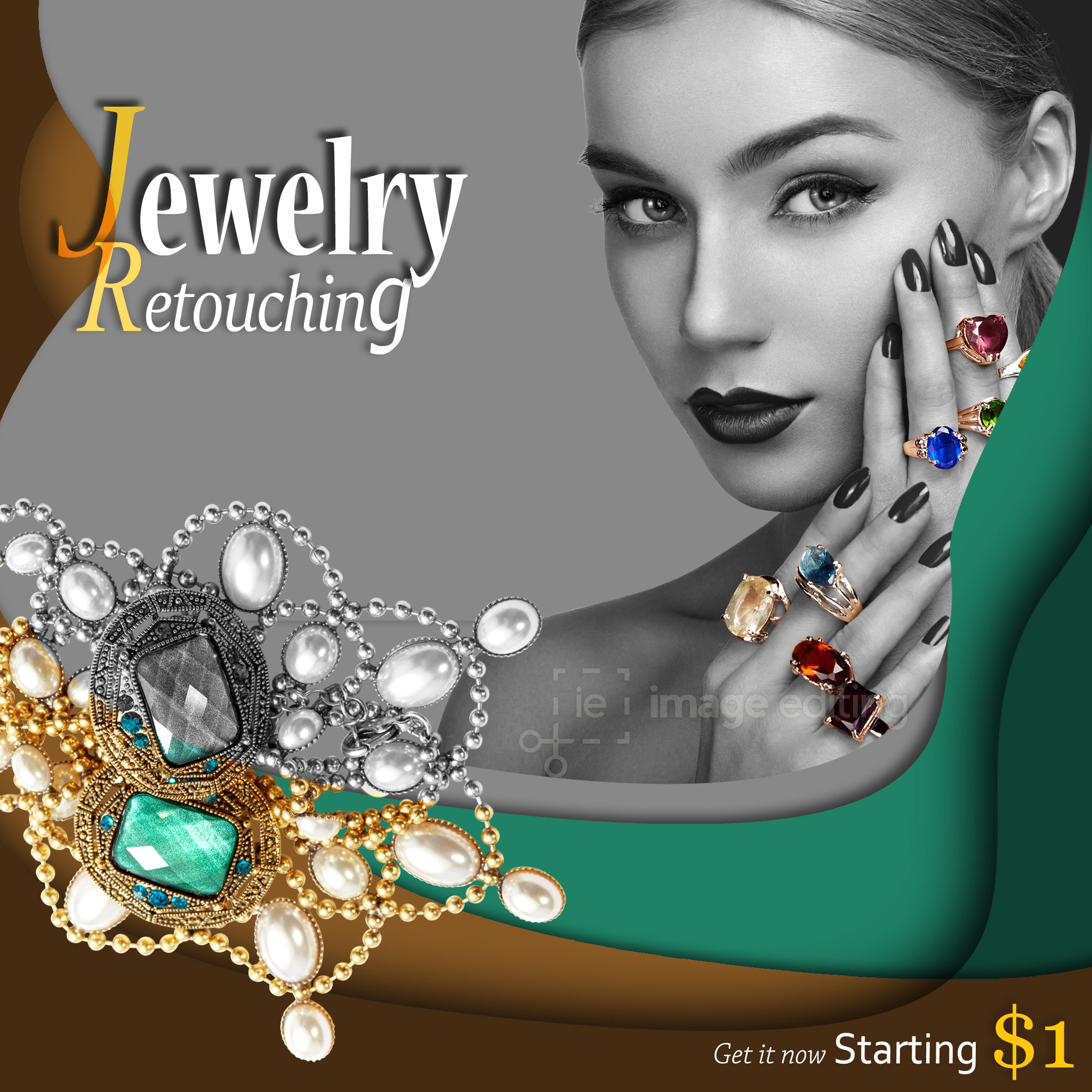 Jewelry Retouching Sample 1