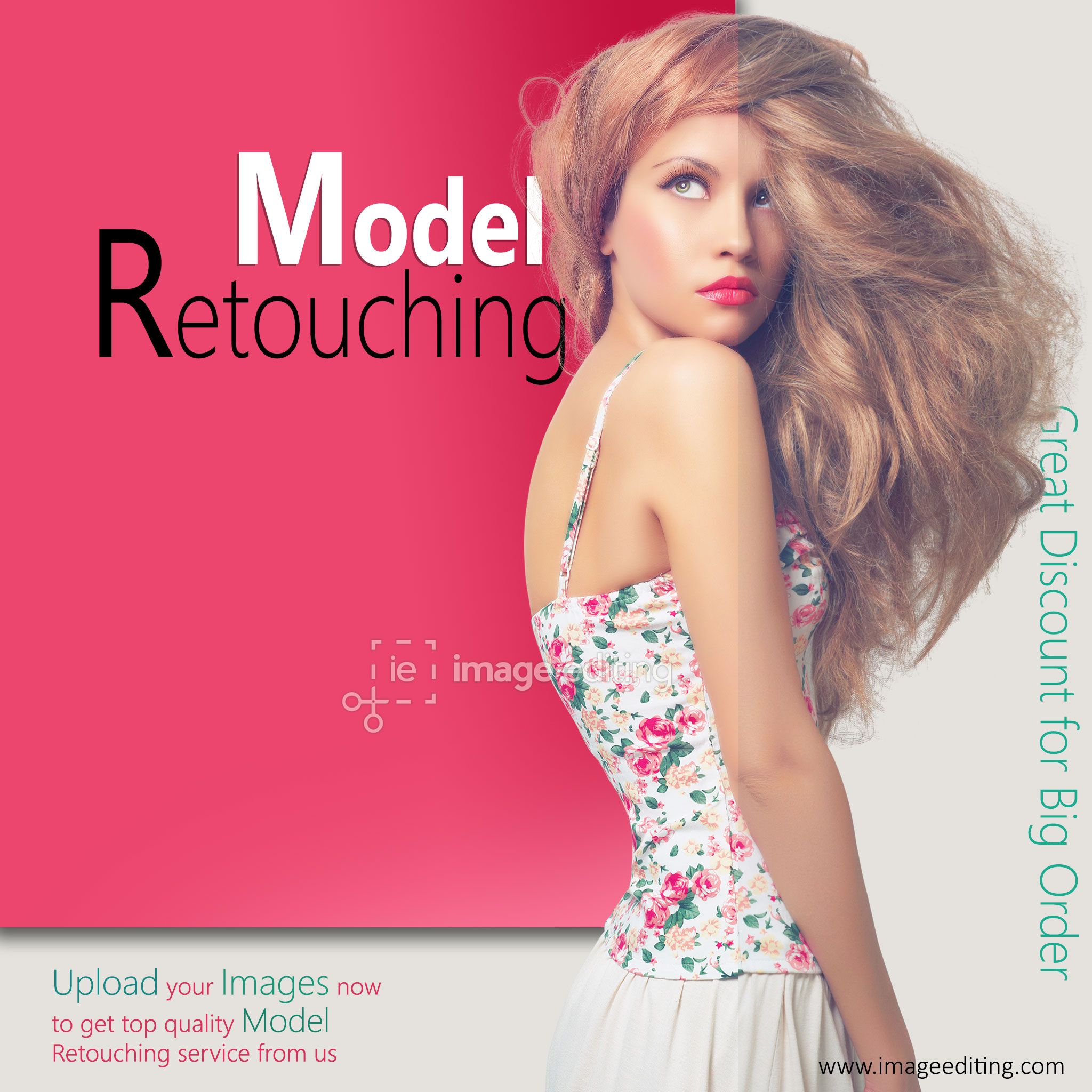 Model Retouching Sample 1