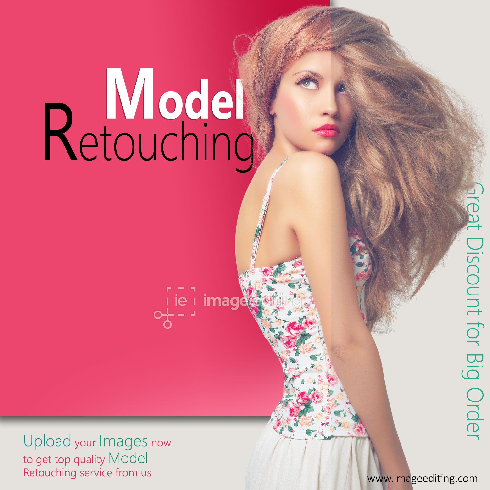 Model Retouching Sample 1