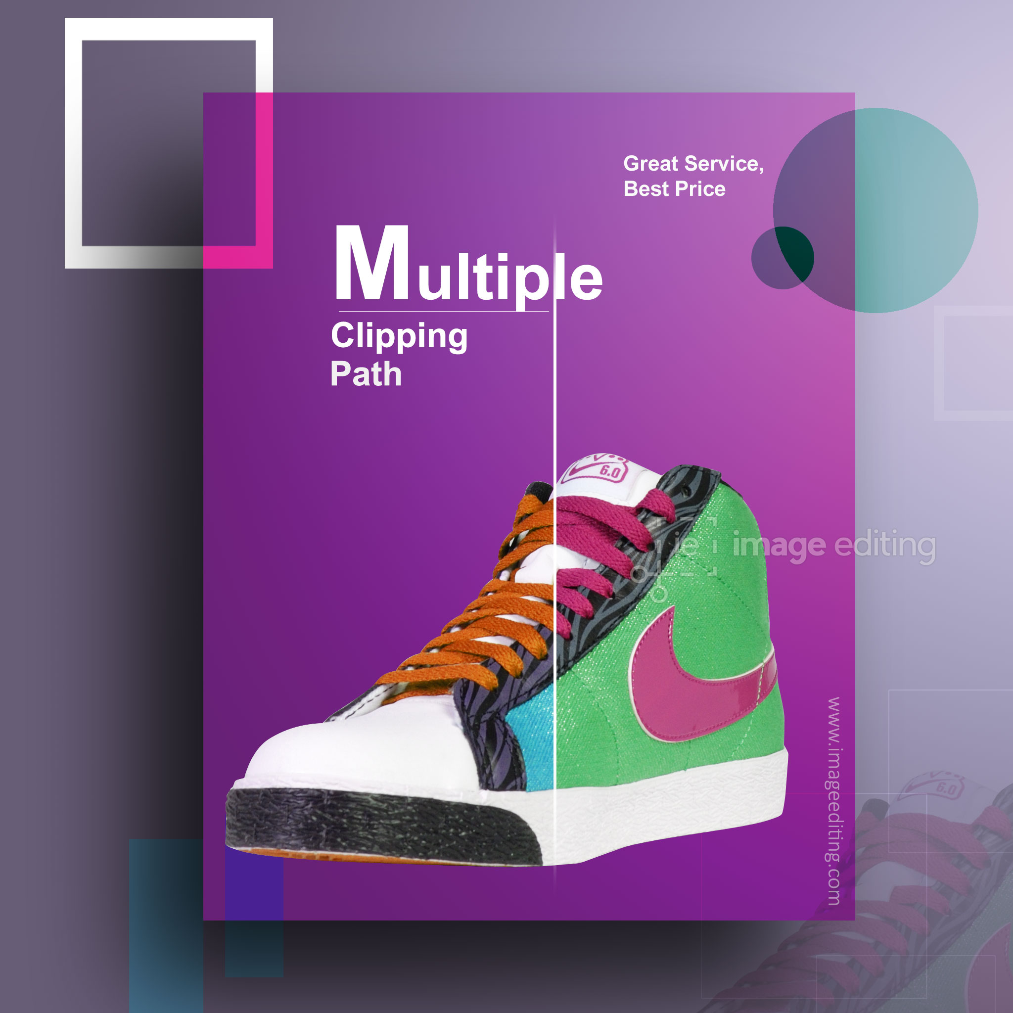 Multiple Clipping Path Sample 1