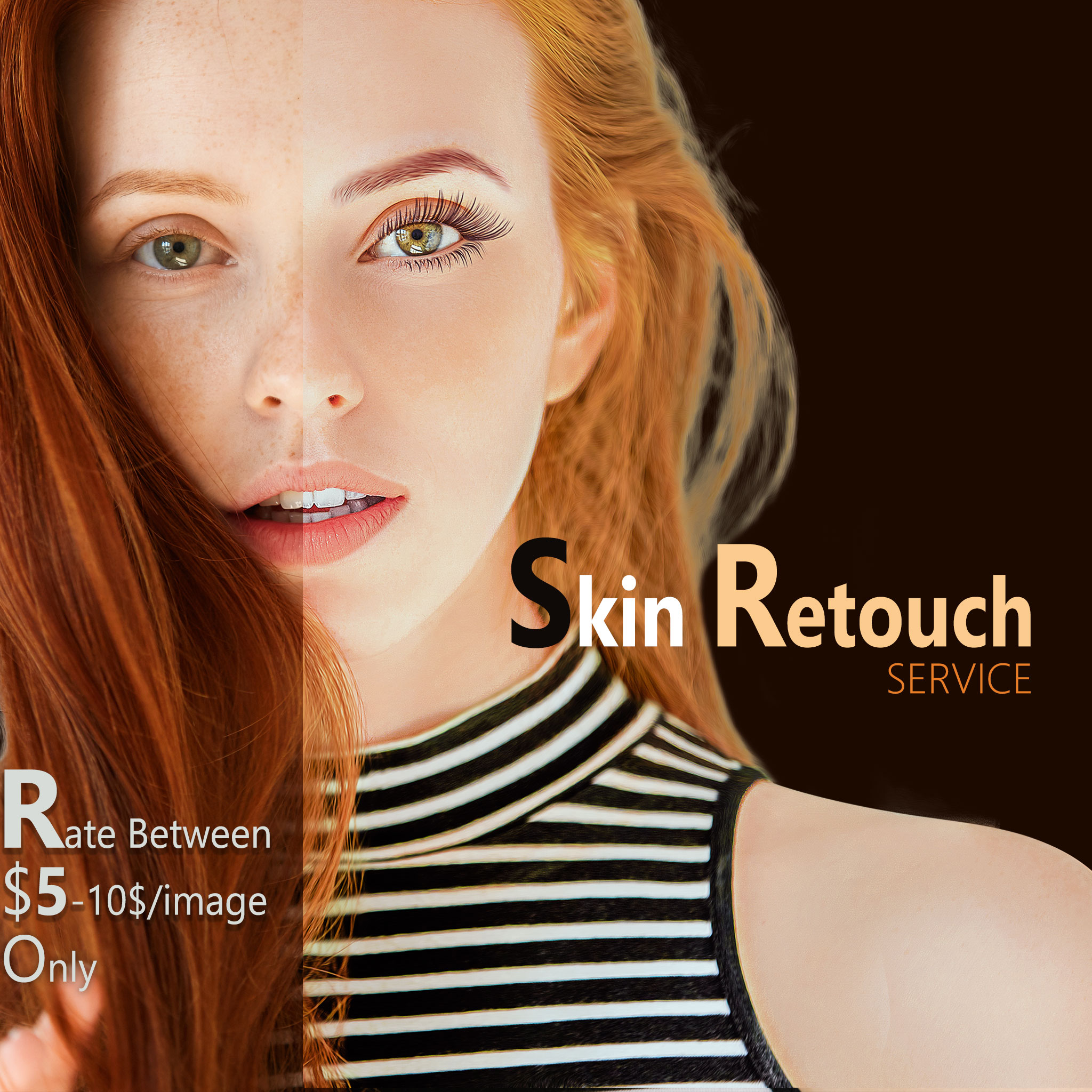 Skin Retouching Sample 1