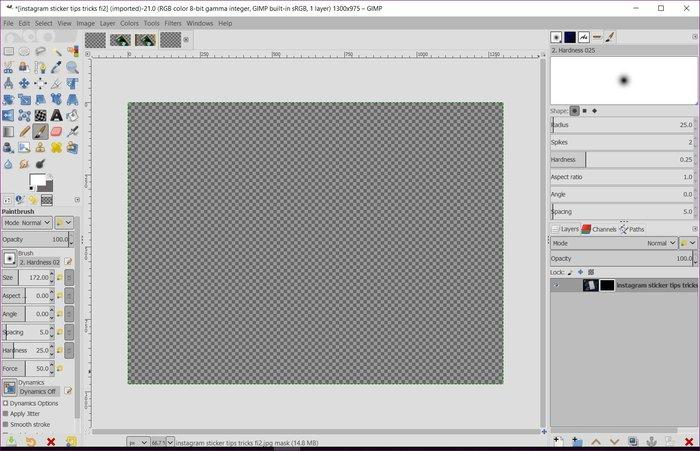 remove-background-gimp
